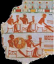 histoire et origine des perles - Egypte